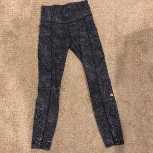 "Lululemon Fast and Free Pant 25"" inseam"